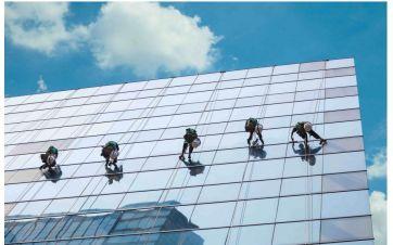 Čišćenje i održavanje staklenih fasada